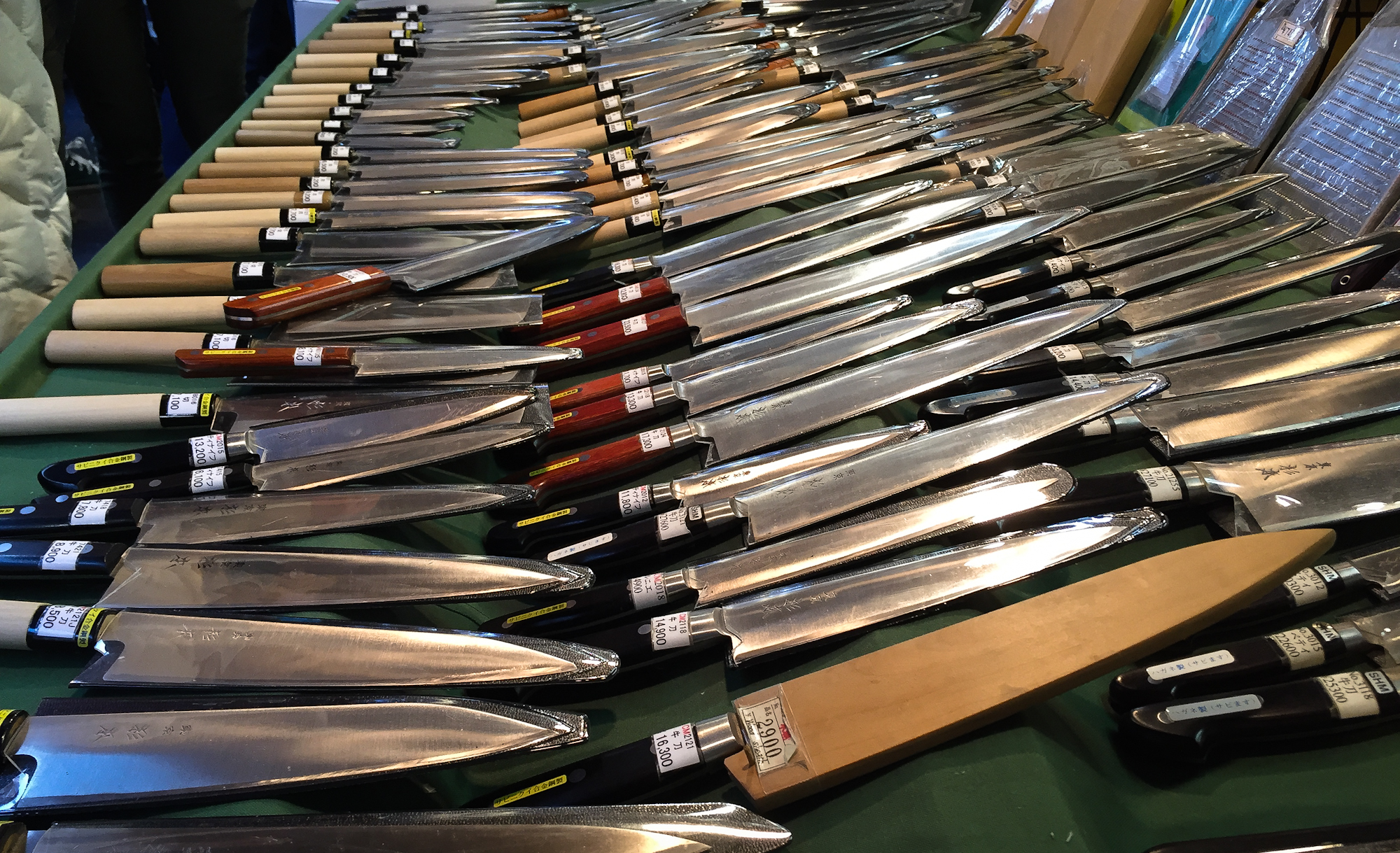 Knife Shop. Tsukiji.