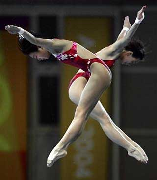 Chinese Divers.  So good.