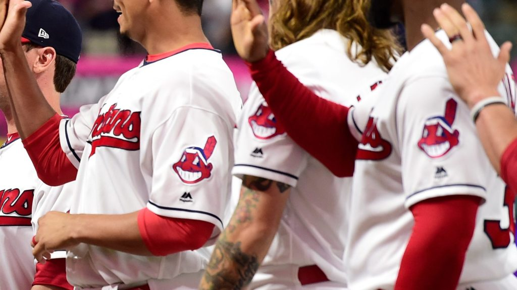 Chief Wahoo. This is what happens when too many white people get together in the same place.Credit:  Jason Miller /Getty Images
