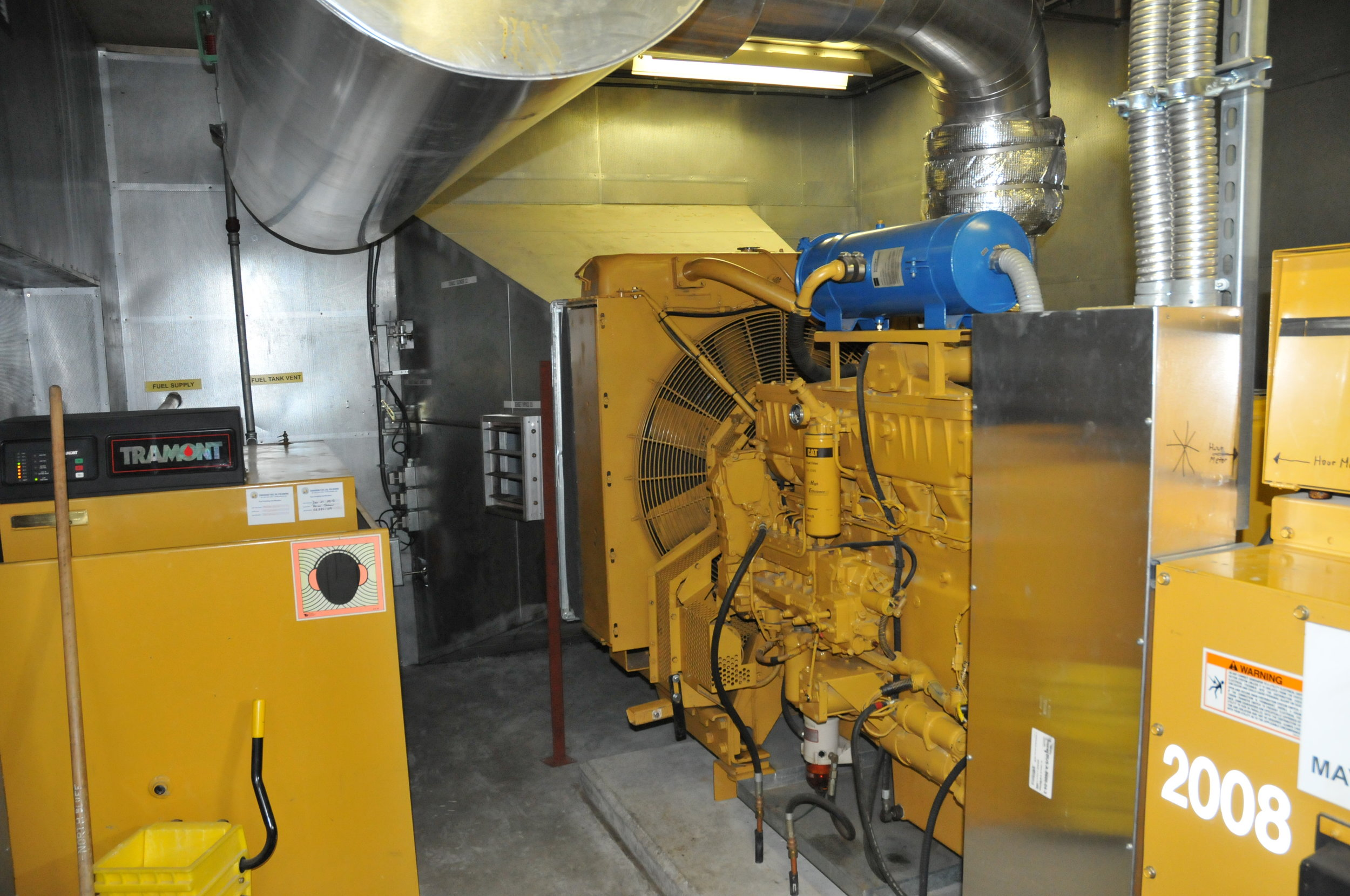 STANDBY POWER & PRIME POWER:  Design and upgrading of diesel standby power for facilities such as pump stations; and prime power up to 4 MW sets; including auxiliary systems such as fuel supply, engine exhaust, cooling water, air handling, and noise control.