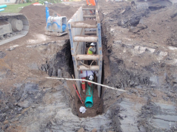 SEWER DESIGN AND ASSESSMENT: Civil design of sanitary and storm mains, especially challenging retrofits. Condition assessment of existing mains and control structures.