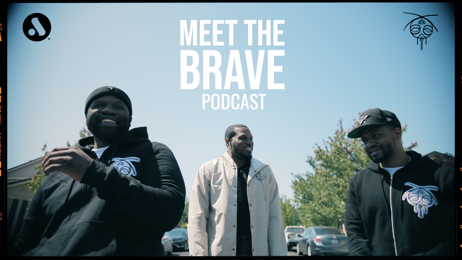 MEET THE BRAVE PODCAST (Credit: Salvatore Fullmore)