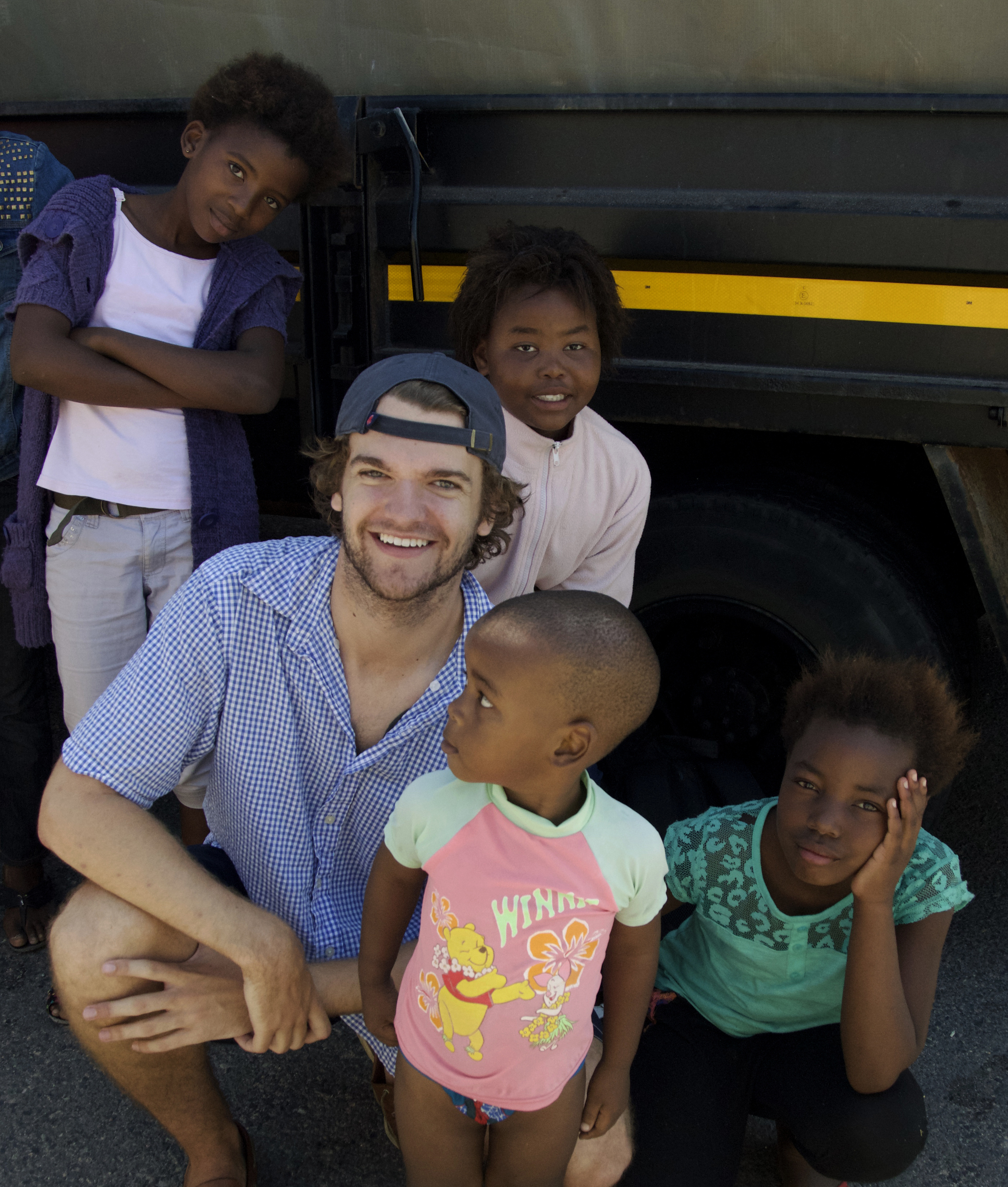 Sean in South Africa