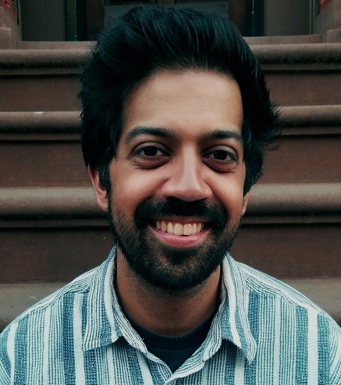 Michael Das  / writer-director  Michael is a British born visual artist and animator living in New York. He is currently focusing on writing and directing after spending over a decade in post production and work spanning commercials, TV shows, experiential video and a number of web series.  Completing a degree in Computer Animation Michael has worked on several animated shorts, including his own experimental film ETERNAL DUST. Currently he is developing is first live action short film.