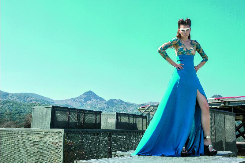 Teal blue high skirt and tulle body.jpg