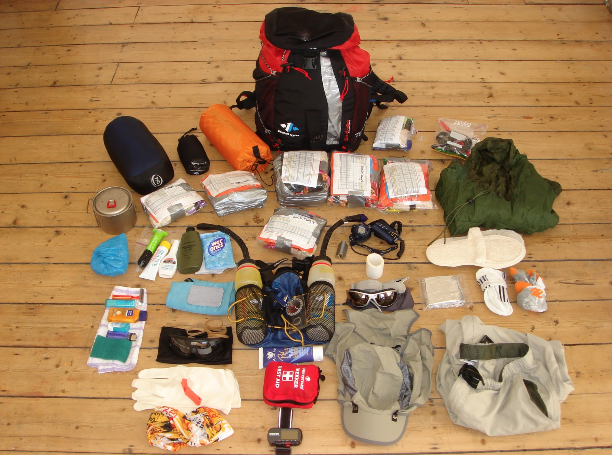 A look at what goes into a MDS pack. Photo Credit: Ian Corless