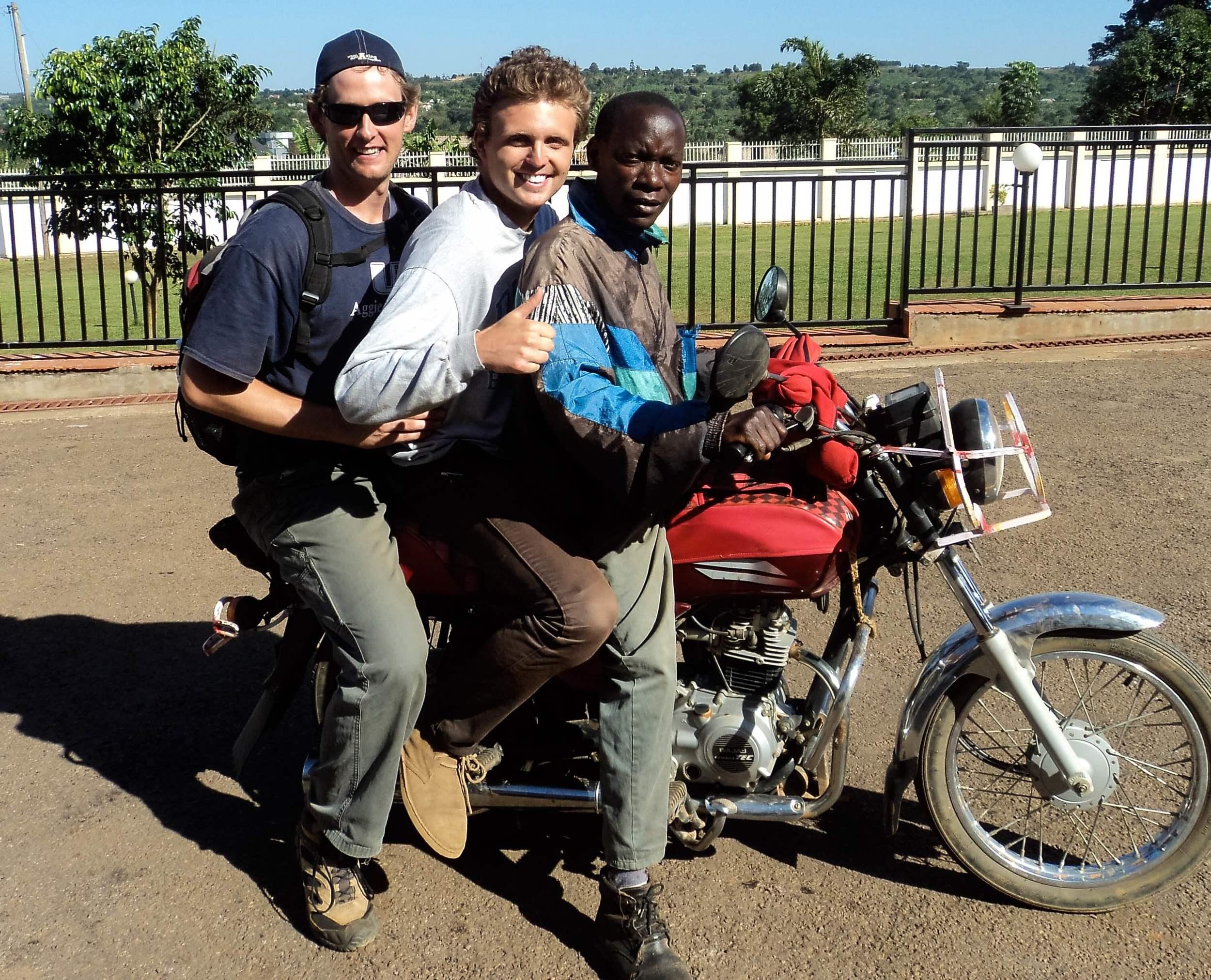 Boda Travel in Uganda