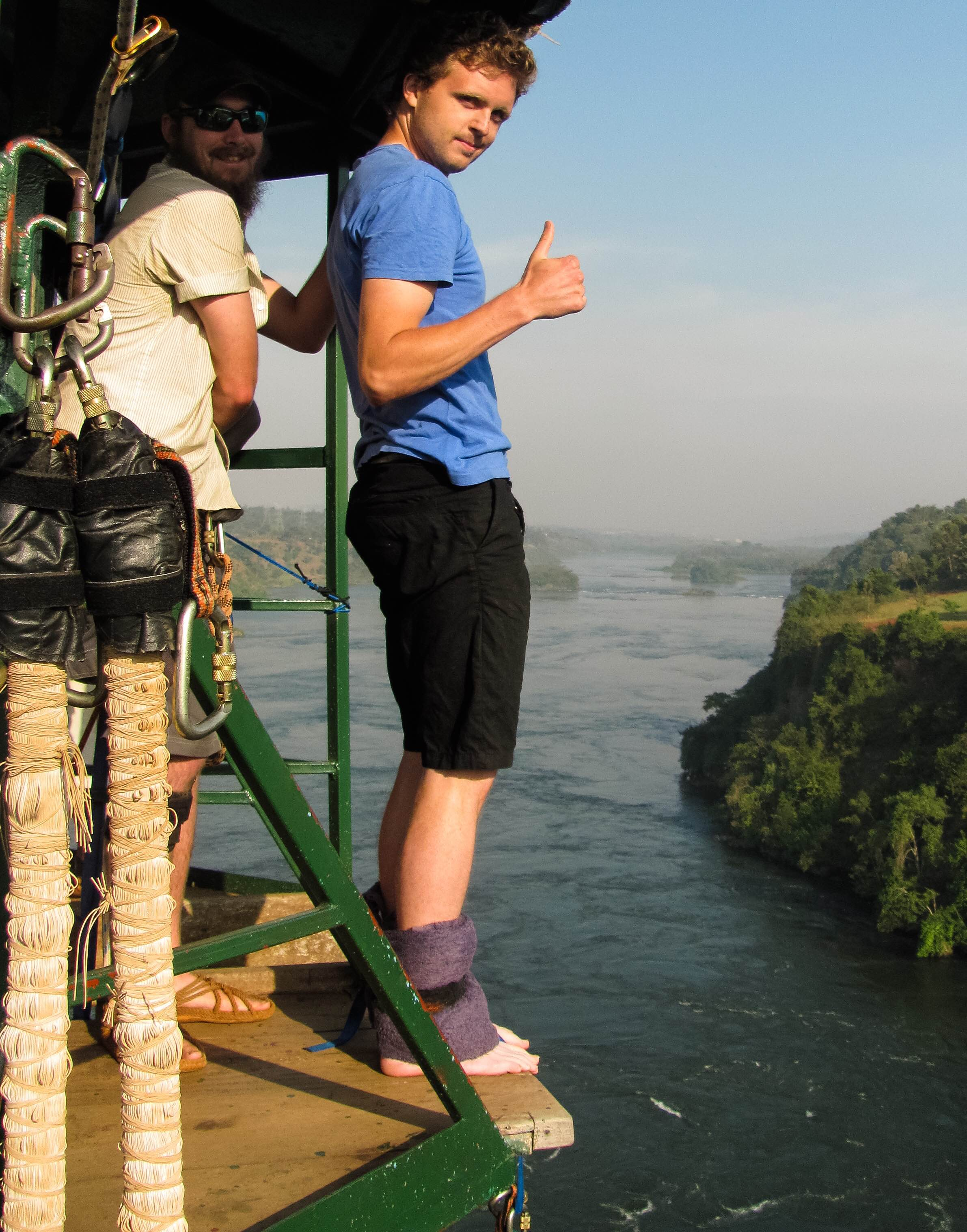 Bungee Over the Nile Rive