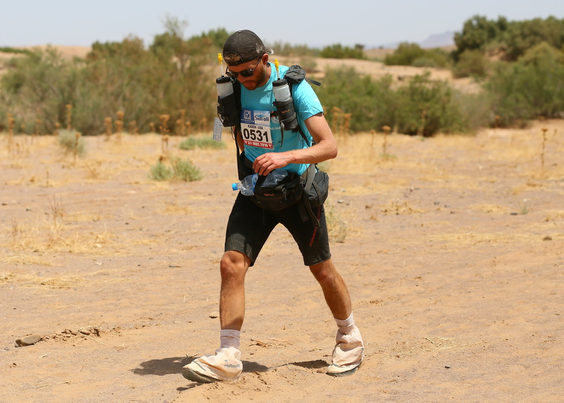Run 11 more miles in the Sahara after the MDS has officially ended? Why not?I may be only minutes away from heat stroke, but WHATEVS!