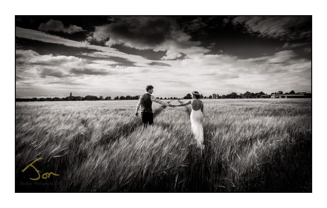 Wedding Photography Nottinghamshire   on the farm