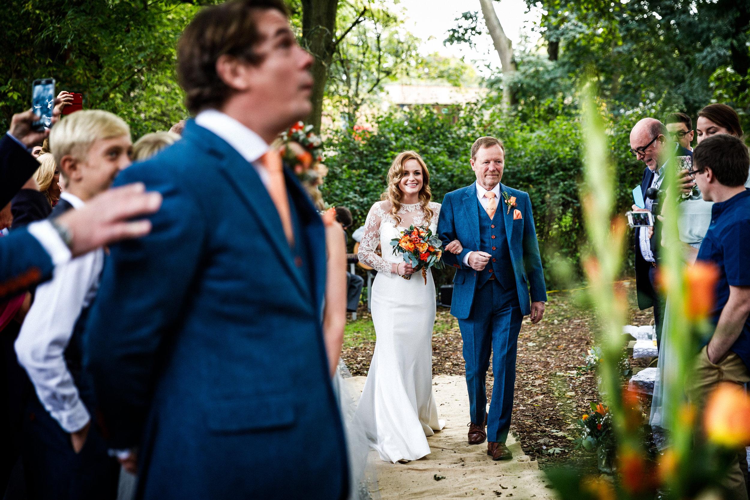 The Woodlands at Hothorpe Hall Wedding Photography