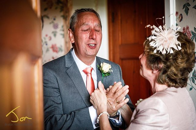 Love this moment when Father sees his daughter as a bride for the 1st time. #emotion #weddingphotography #weddingphotographer #fatherofthebride #documentaryphotography #momentintime #pricelessmoments