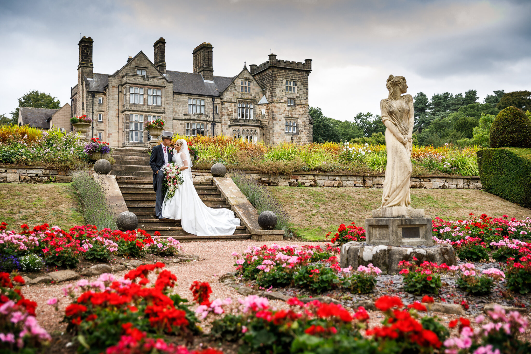 Breadsall Priory Wedding Photography Derbyshire