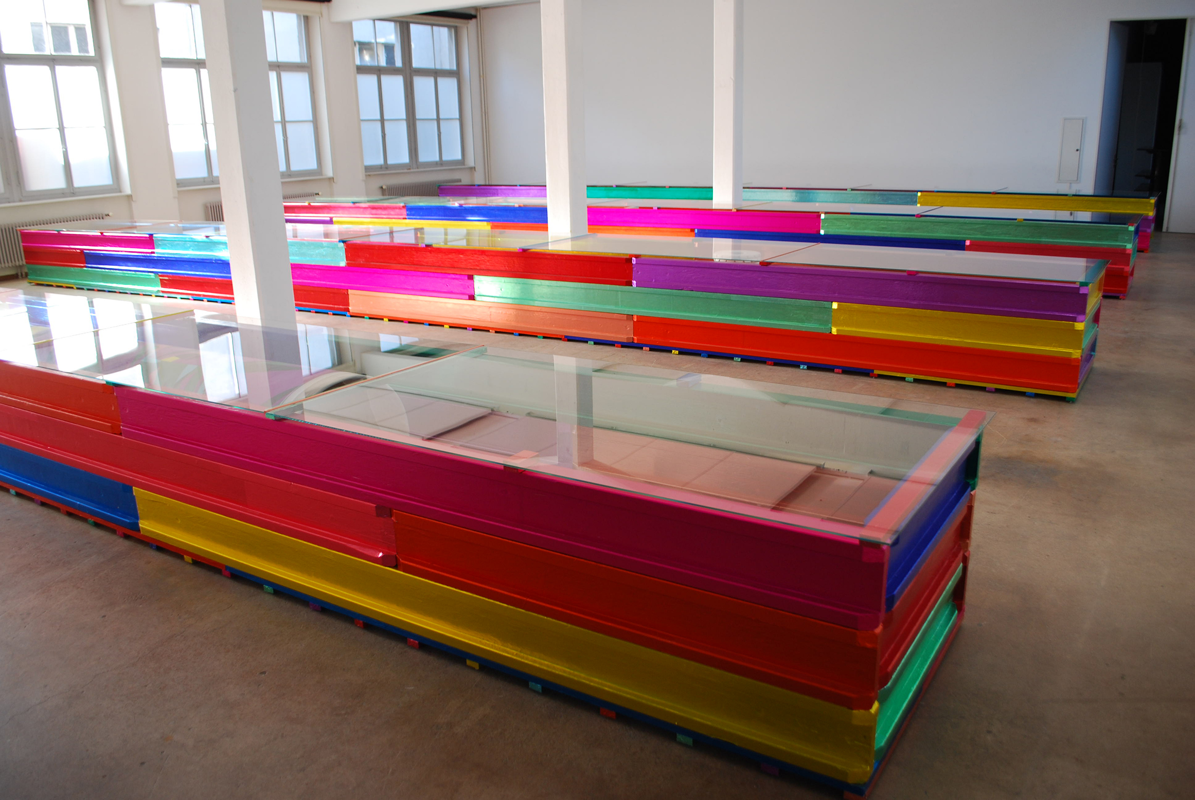 "Christian Kathriner, ""Auslegeordnung"", Kunstraum 2011"