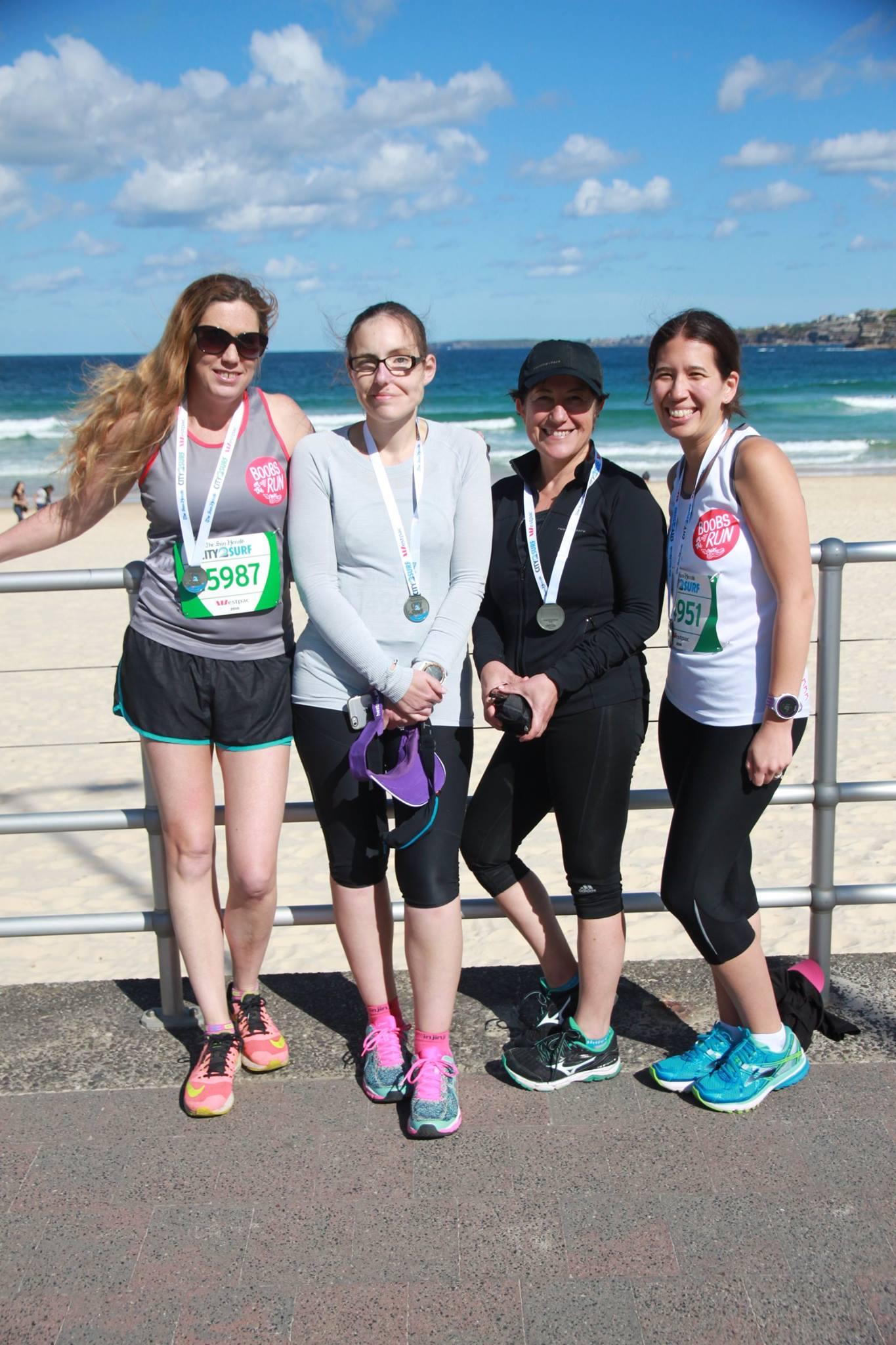 Our Amazing BOTR ladies smash the 14km City2Surf race!