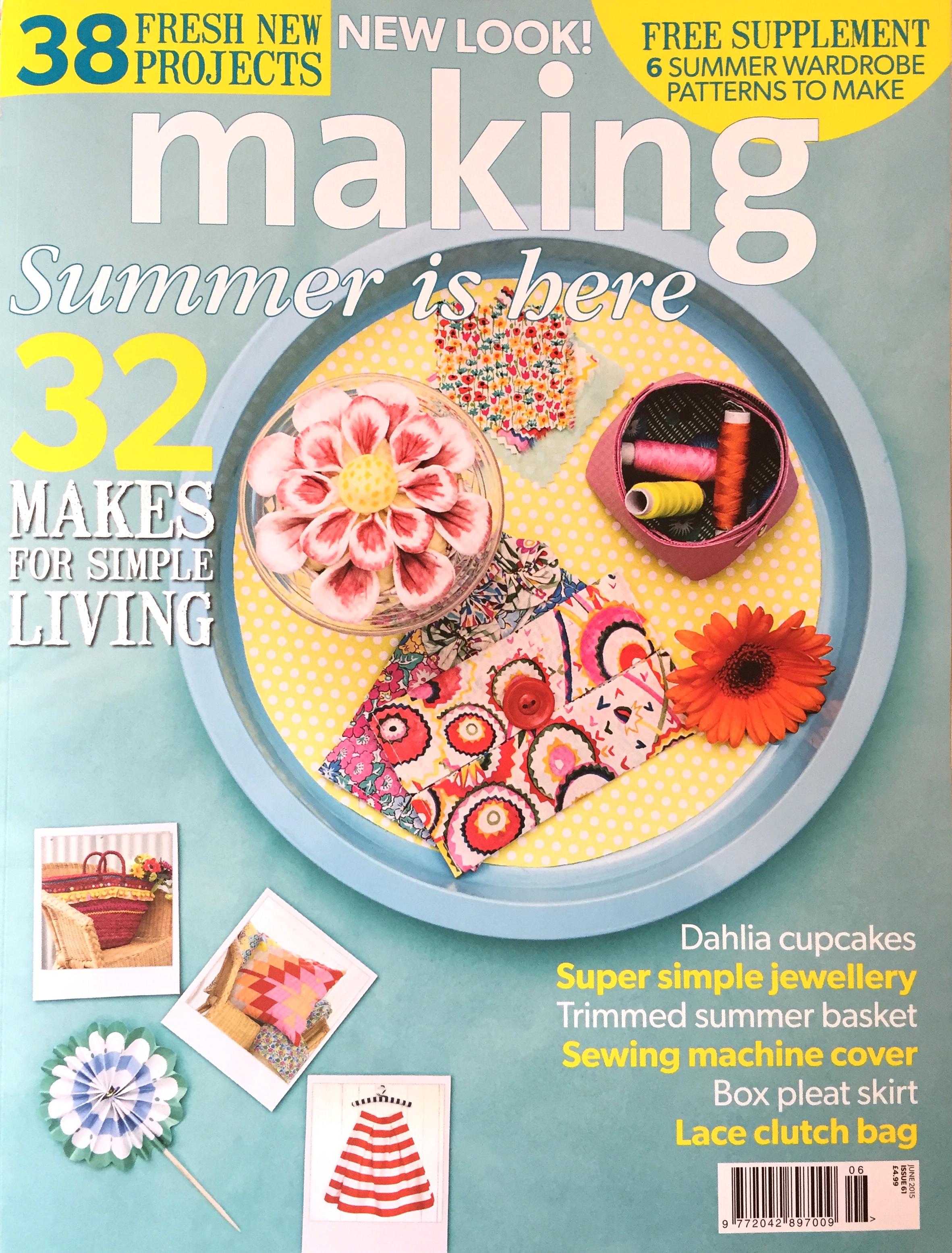 May 2015 - Making Magazine - Napkin Holder Project