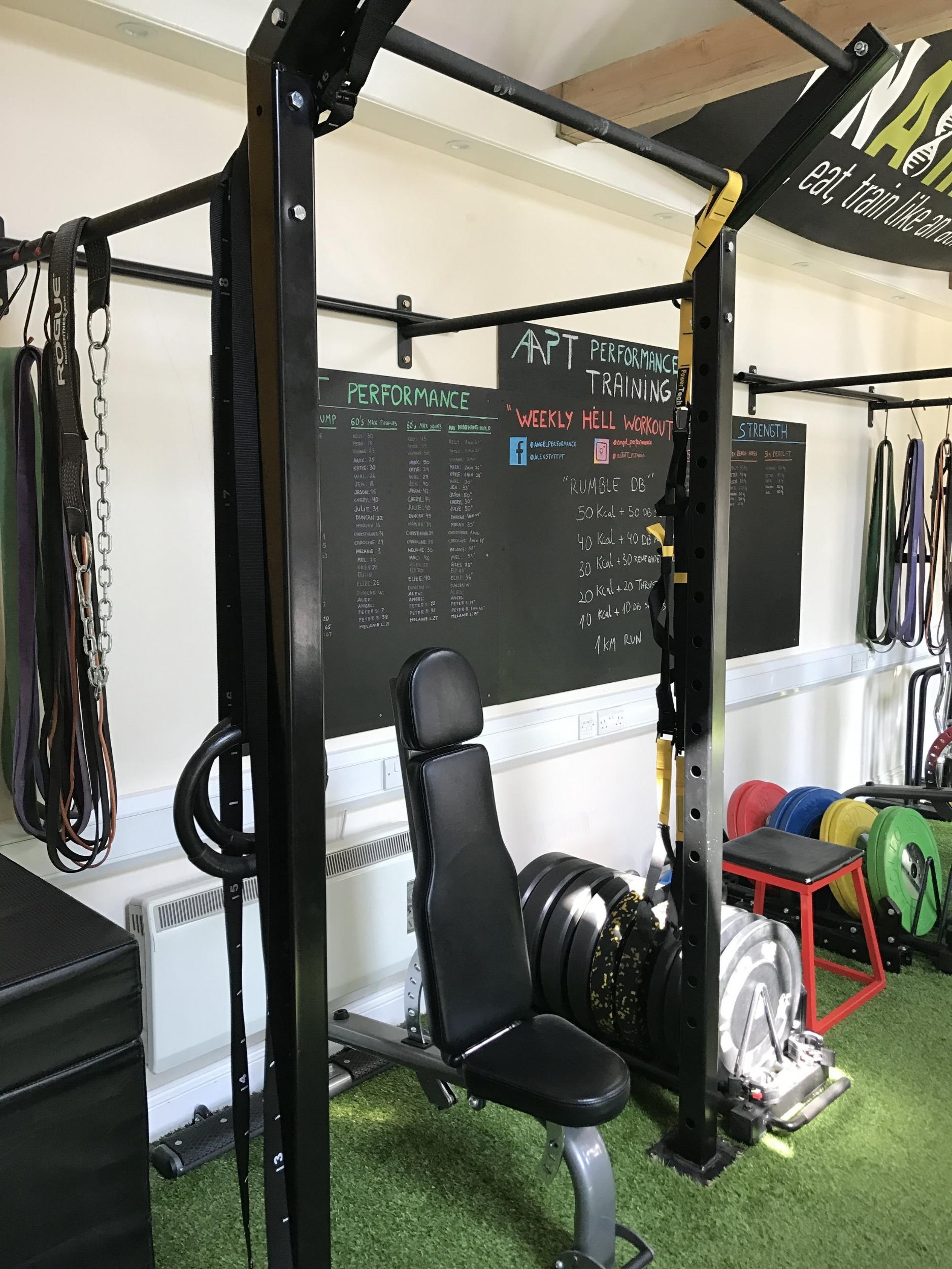 BNAthlete gym half racks