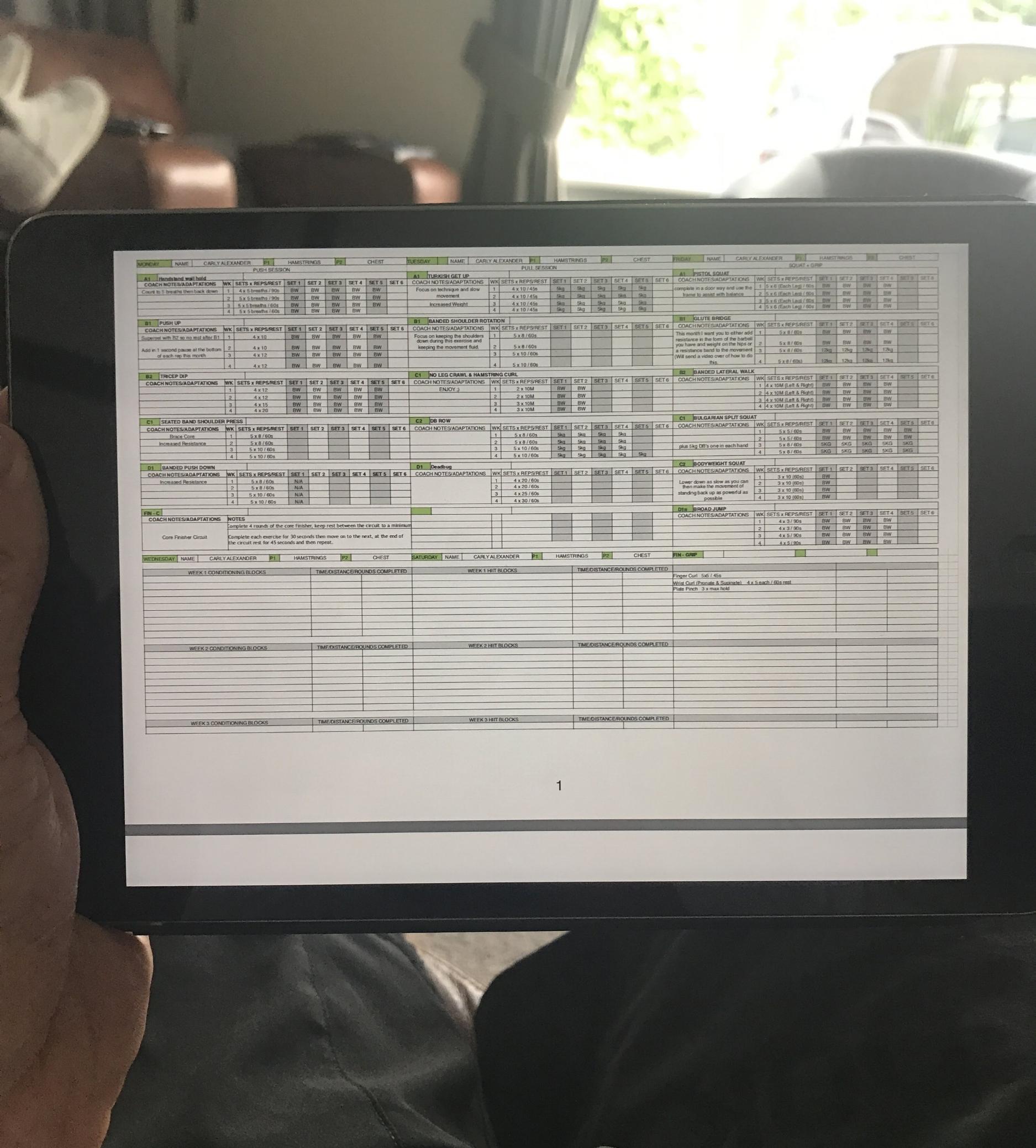 BNAthlete remote coaching