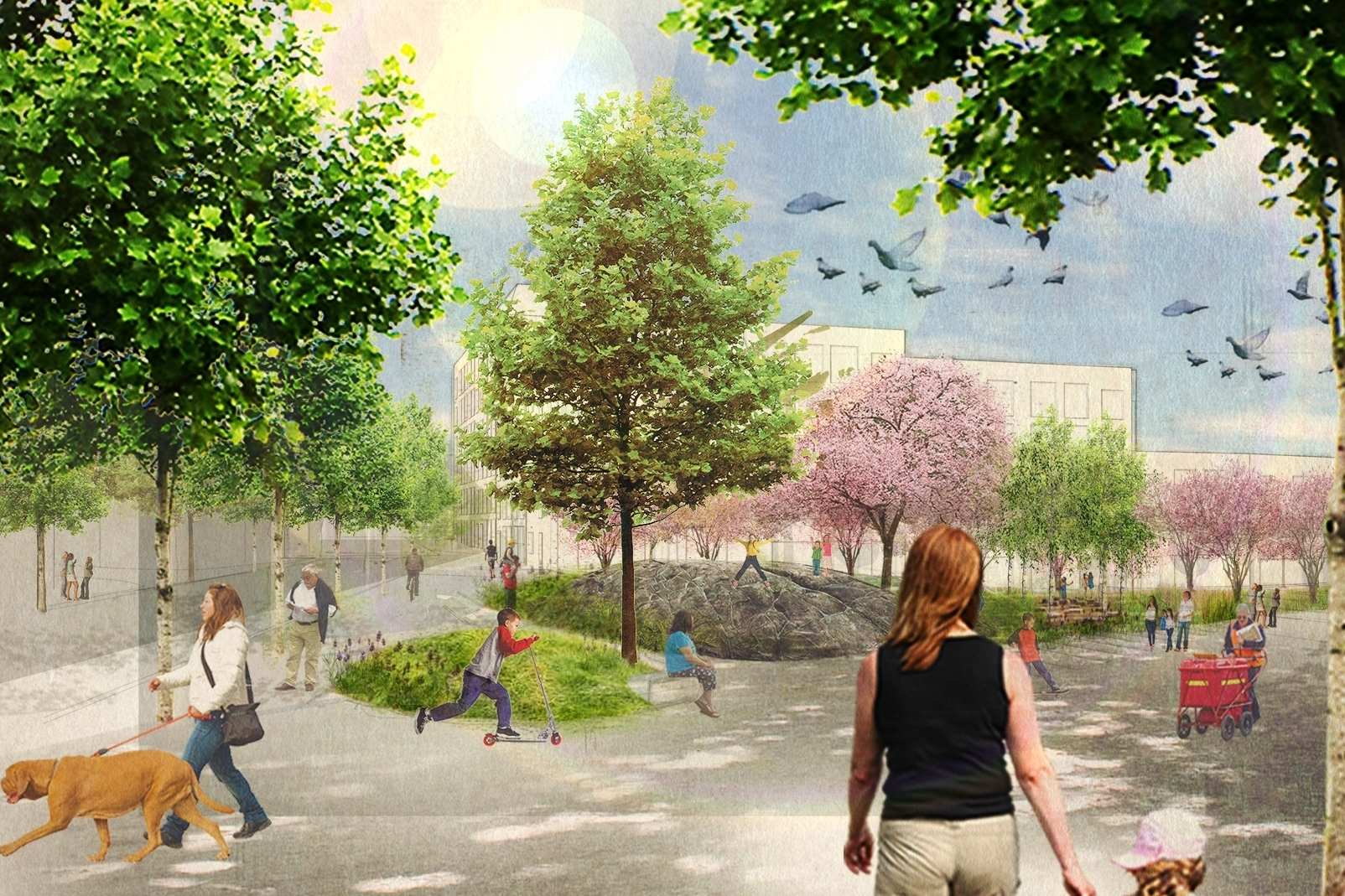 RESIDENTS SUBMIT RIVAL MOUNT PLEASANT PLANS    13th Oct 2016, The Architects' Journal