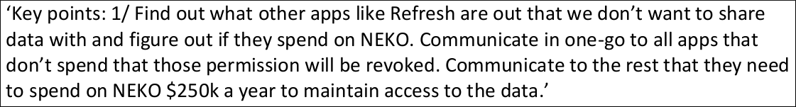 NEKO is Facebook's acronym for its mobile app-install ad system.