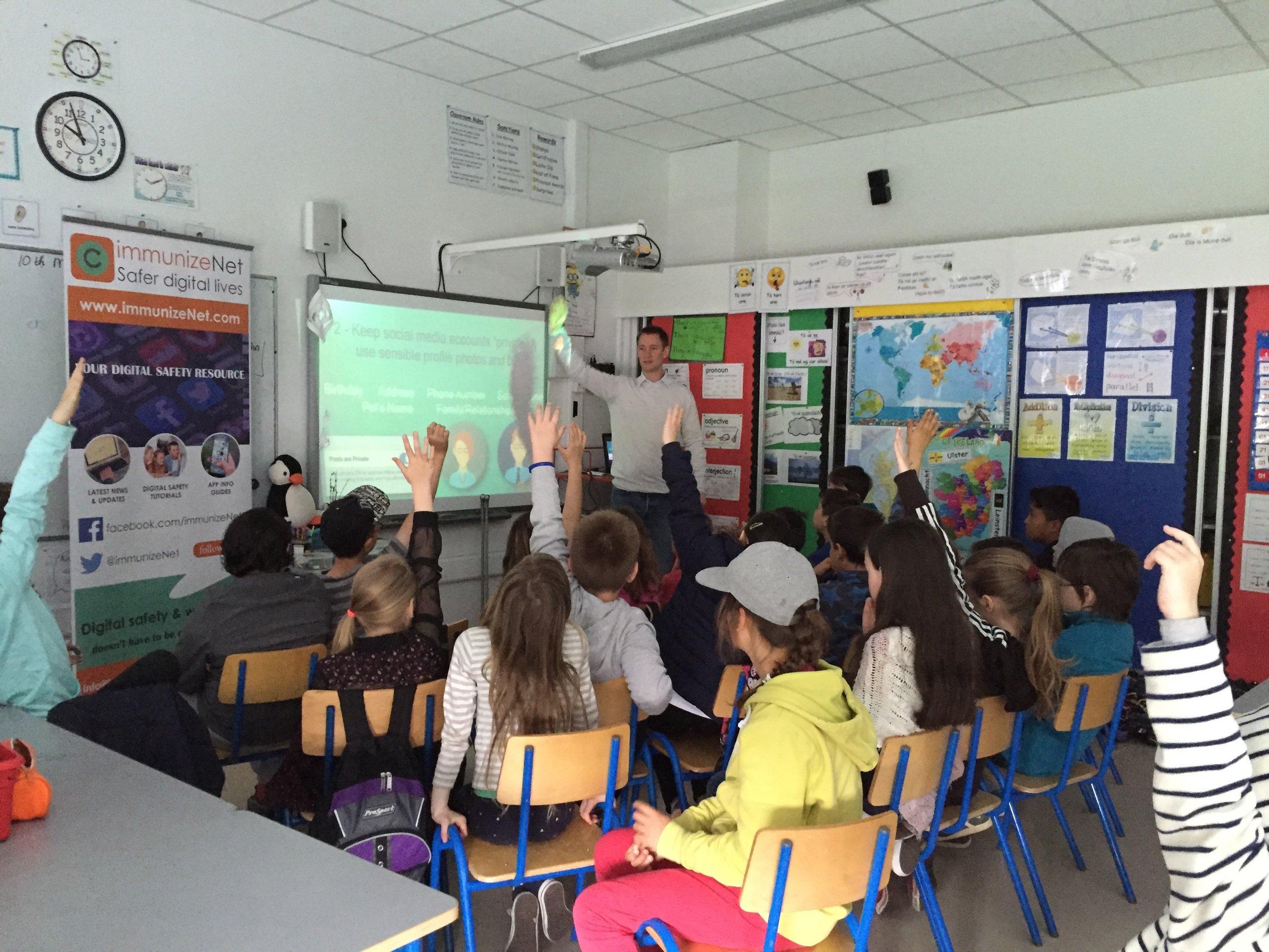 immunizeNet school workshop