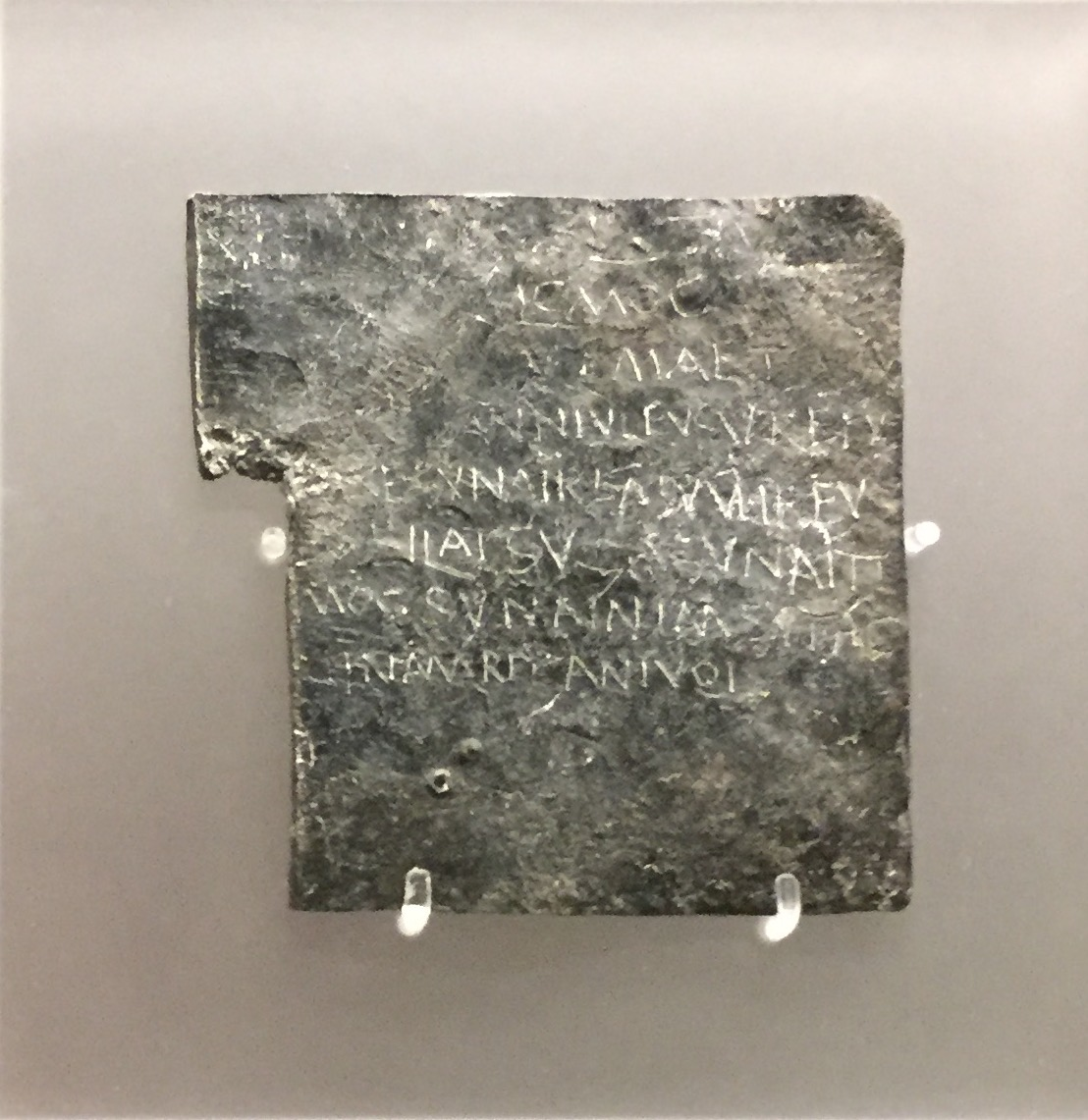 A rare complete and legible curse tablet