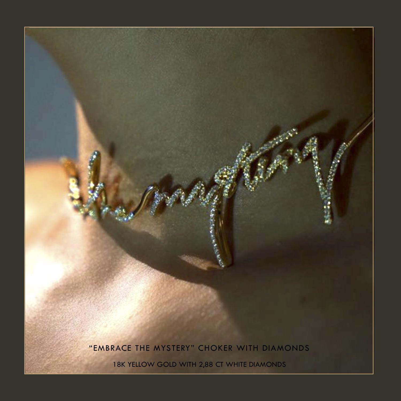 Olivia Steele x Maor Cohen Fine Jewellery Choker