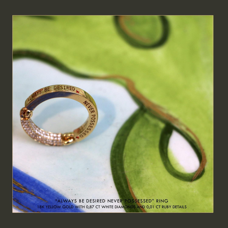 Olivia Steele x Maor Cohen Fine Jewellery Ring