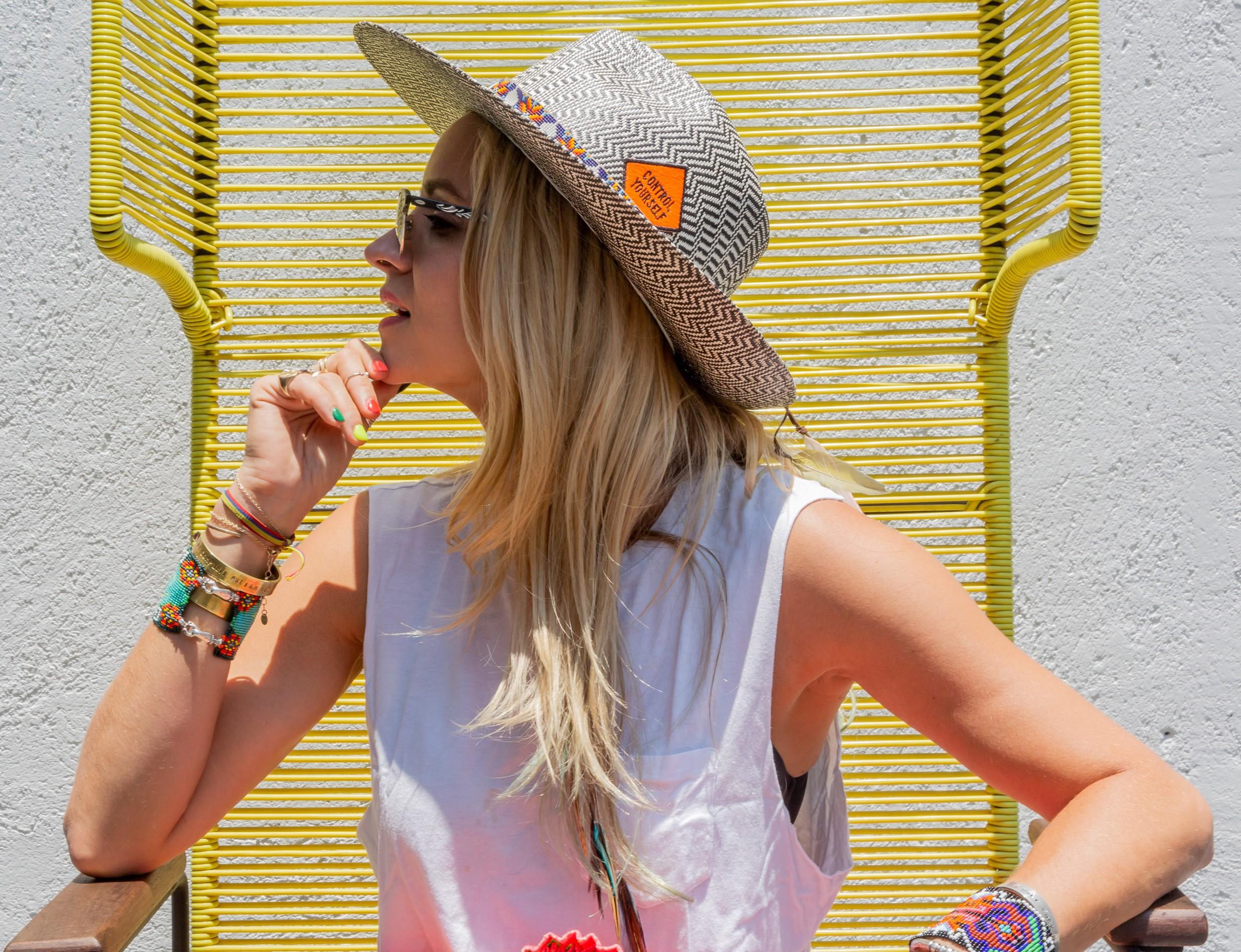 Olivia Steele x Kuerno Hats Control Yourself