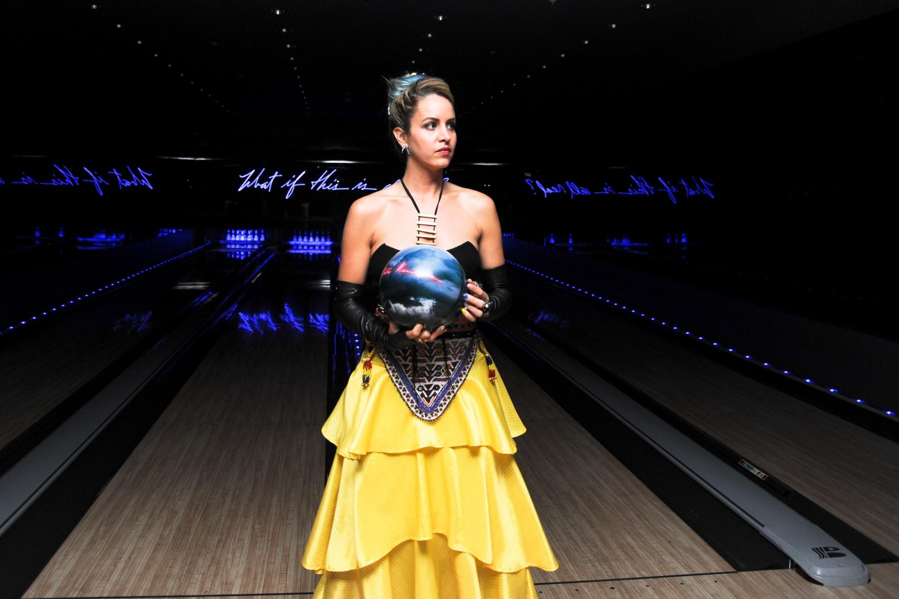 Olivia Steele x EDITION Hotels Bowling Ball