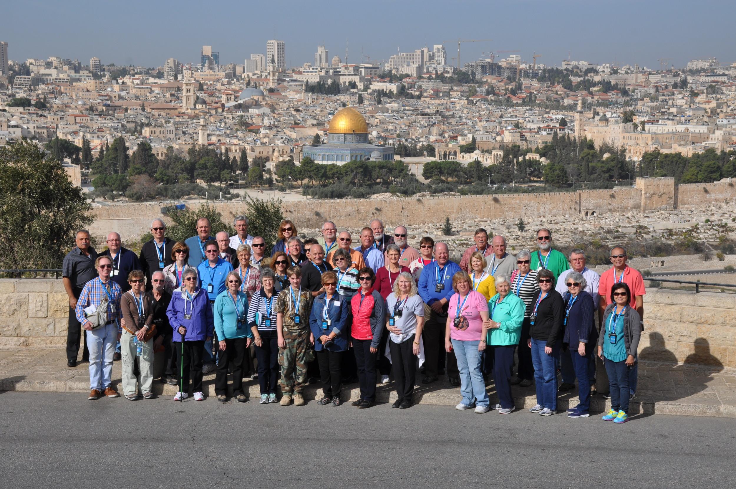 EO Group traveling week of 11/17/14