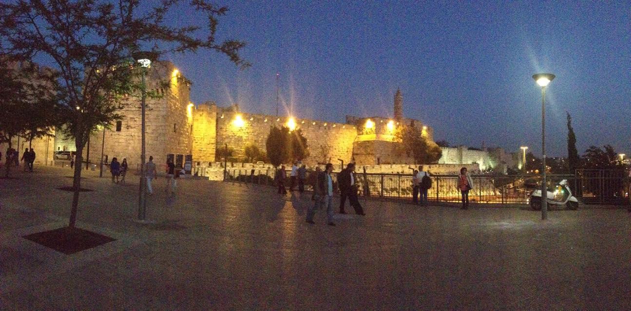 City of David at Night