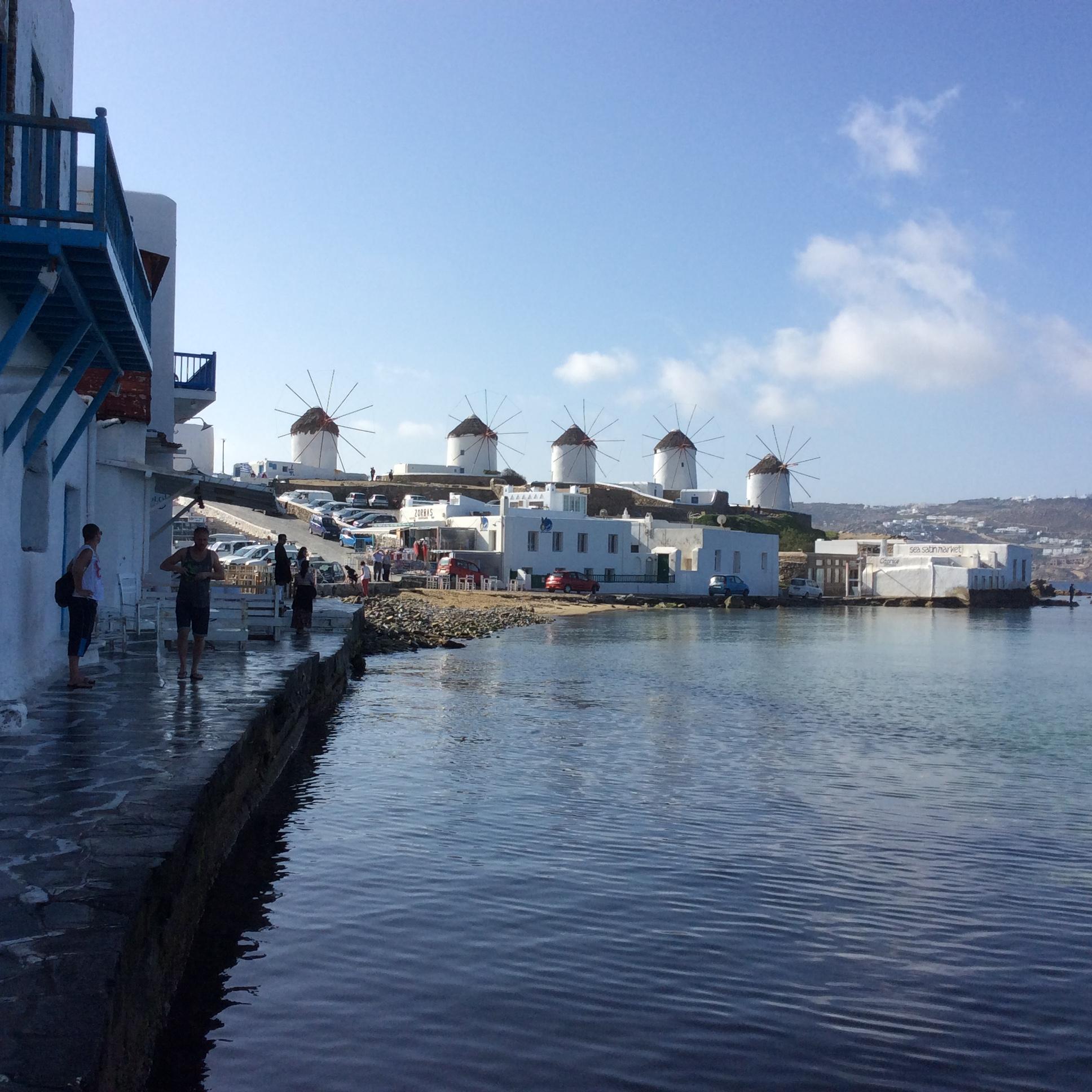 Waterfront in Mykonos.JPG