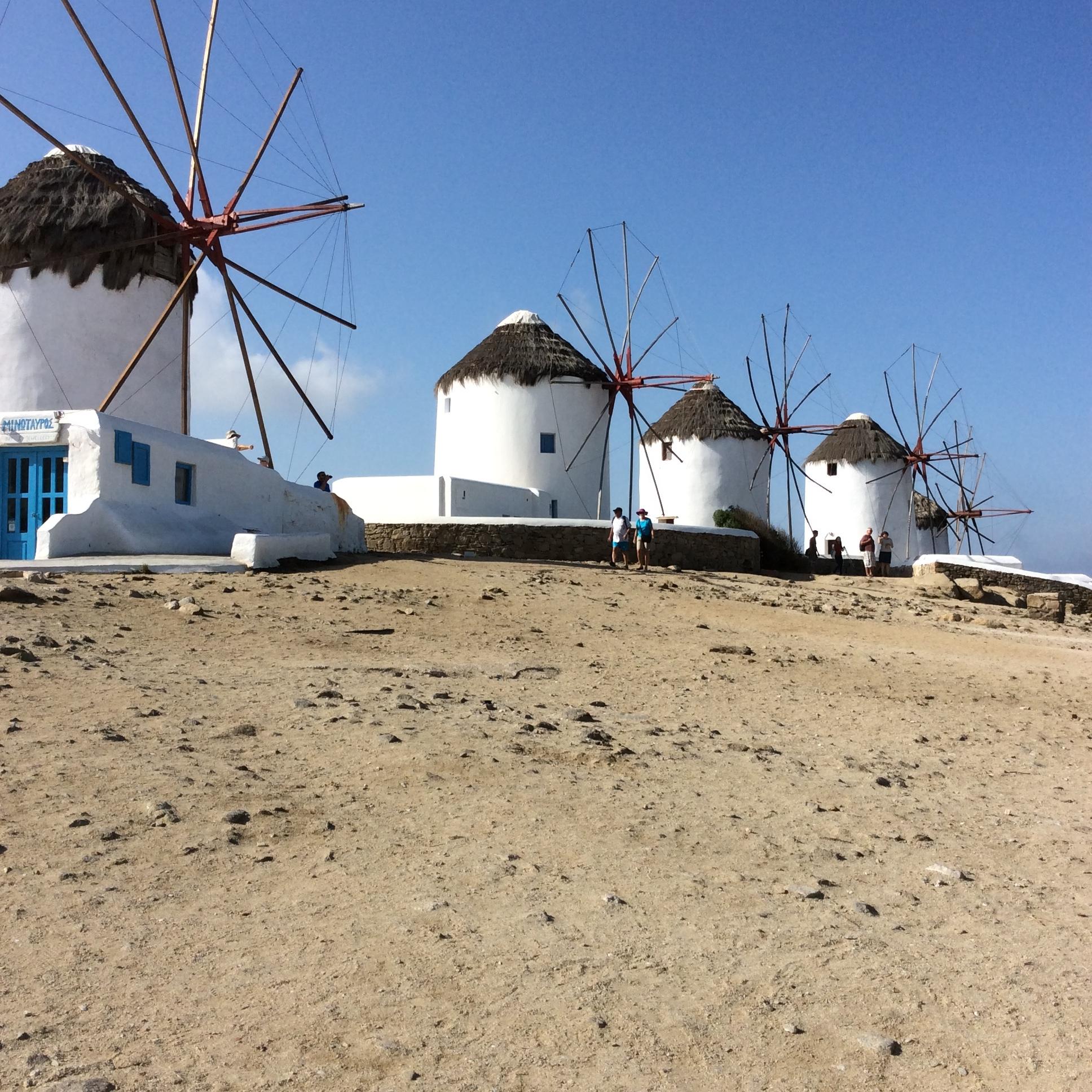 Windmills of Mykonos.JPG