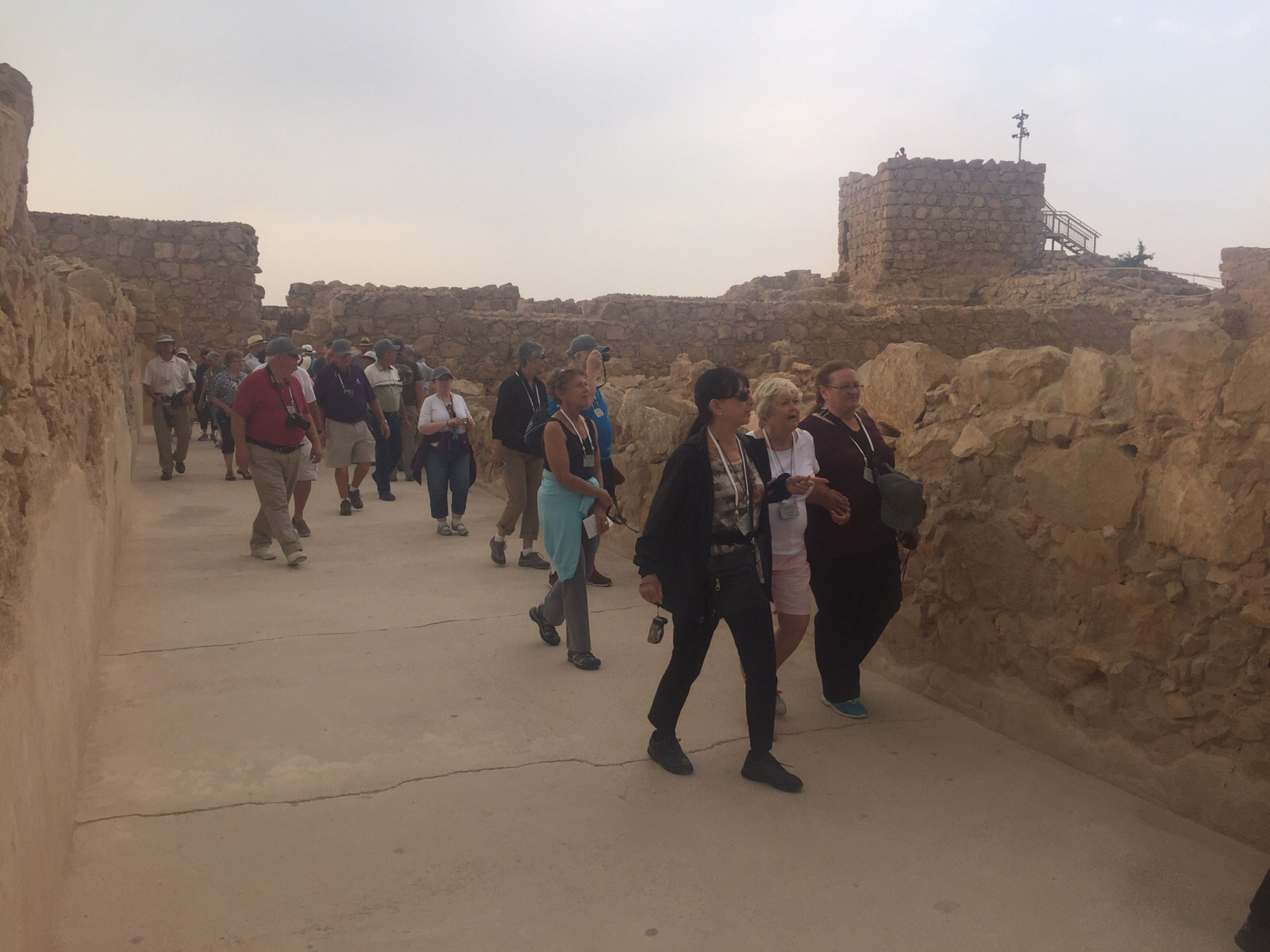 HL15 Thompson group exploring Masada on 10-20.jpeg