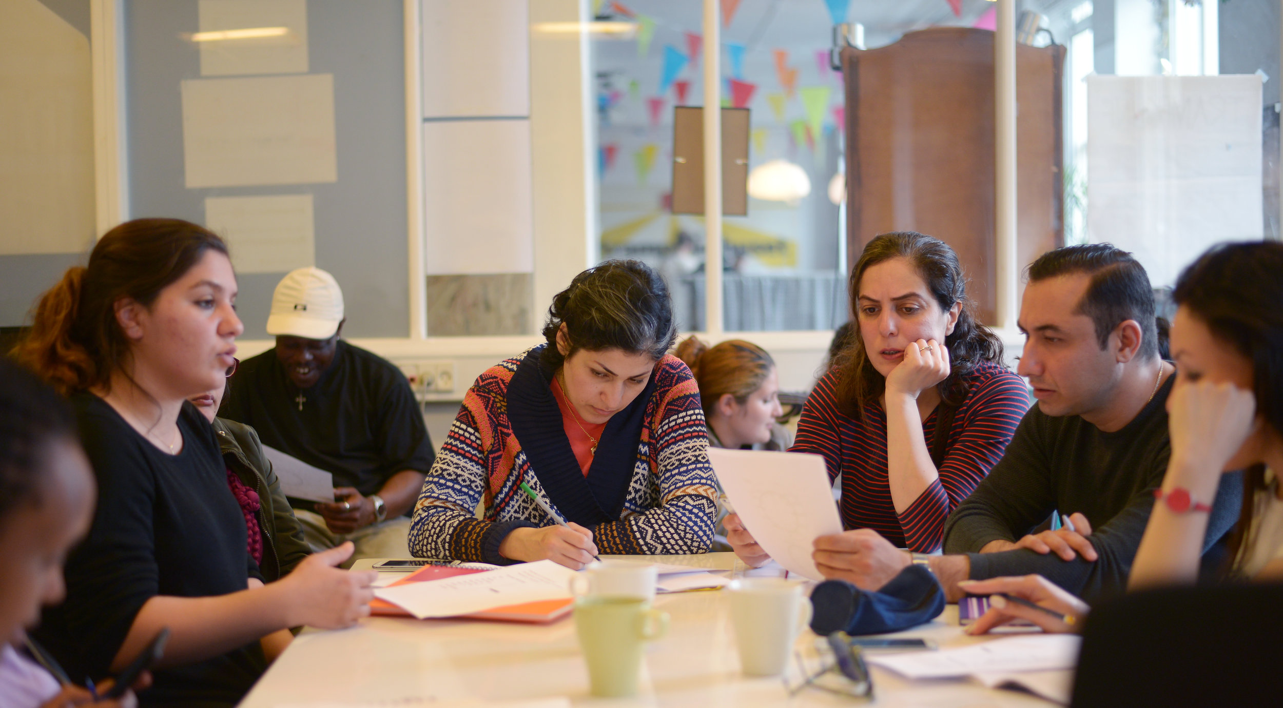 Join our new writing workshop on Tuesdays 3–4 pm!Photo: Anna Emy