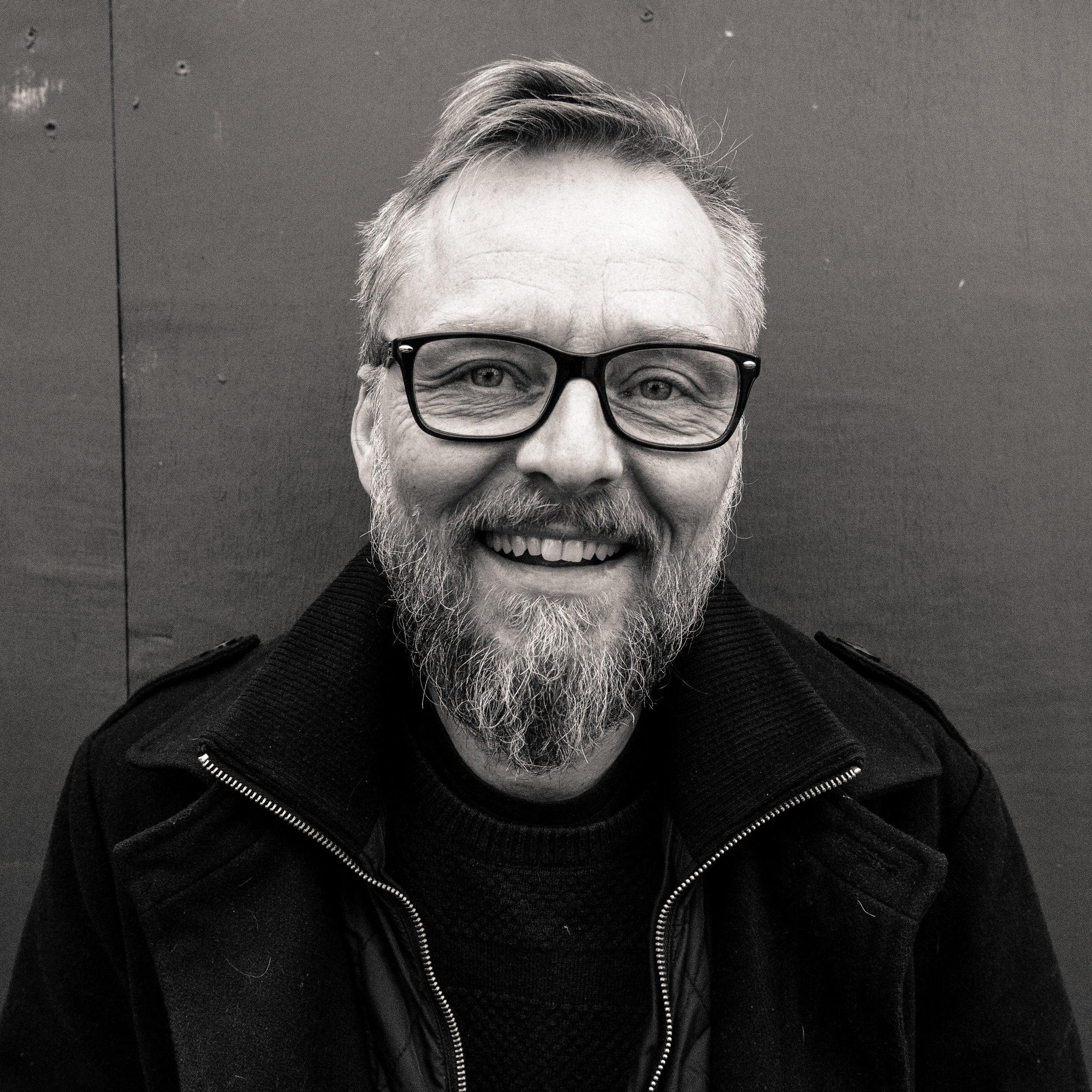 Morten Goll, adm. direktør i Trampolinhuset. Foto: Alina Strileckis.