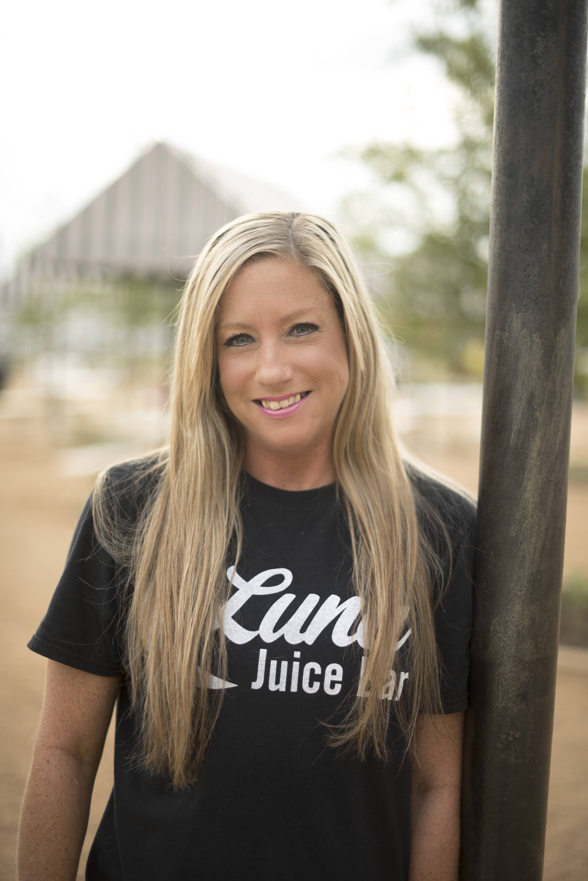 """""""No one outs Baby in the corner!"""" Amber is our baby! SHe's the sweet face you see on the trizzy (food truck) from day to day. She is an expert watermelon blender, she makes us all laugh and is a ninja at self defense, so....don't mess with this one! She joined the Luna team when she was in the early stages of recovery and she has shown up and showed out every day since then. She is an amazing miracle and we see God's providence in her life with each step!"""