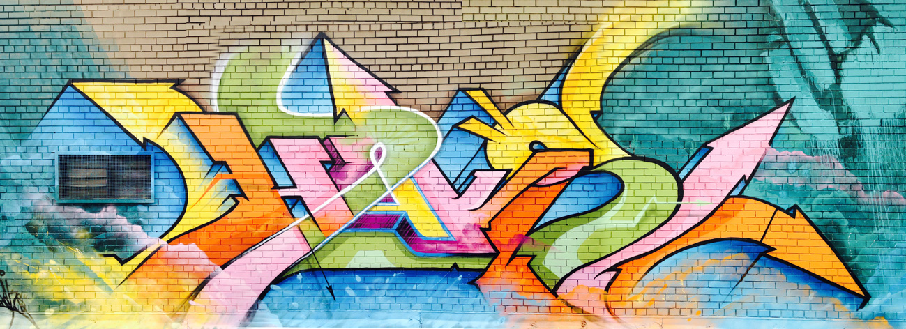 HAKS Piece from Peace Day Wall (Montrreal 2014}