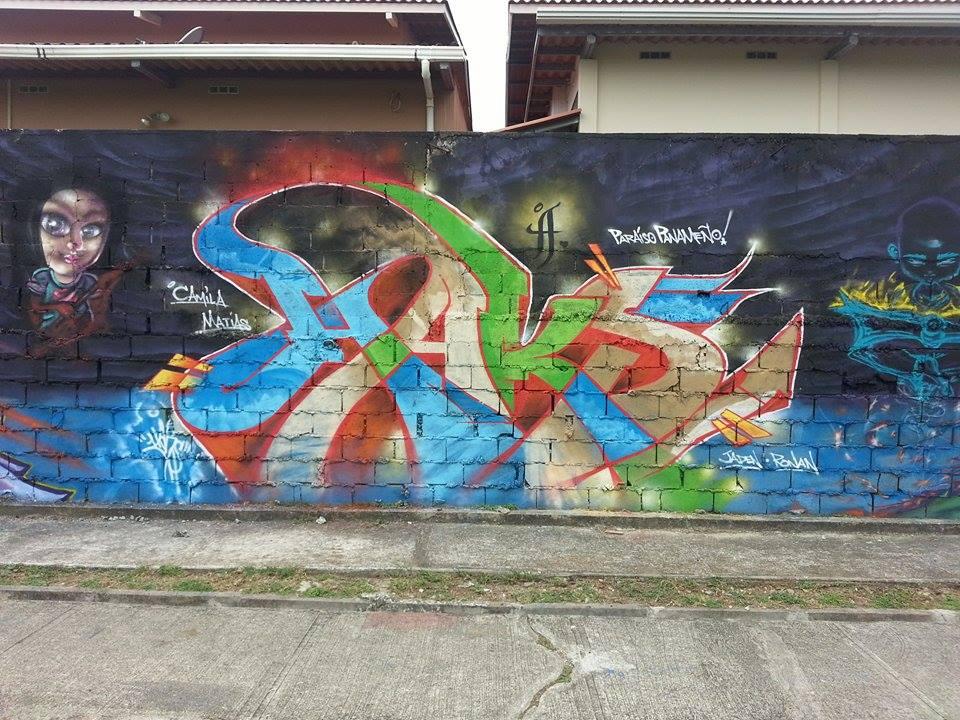 HAKS Piece from Wall w/ CASO3 (Panama City 2014}