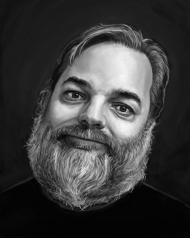 """I call this piece """"I'VE HAD IT WITH THESE DAMN LIMES ON THIS GOD DAMN PLANE"""". @danharmon @harmontown . . . #illustrationartists #illustration #photoshop #danharmon #harmontown #podcasts #art #comedy"""
