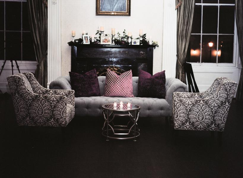 Lounge Furniture at Charleston Wedding