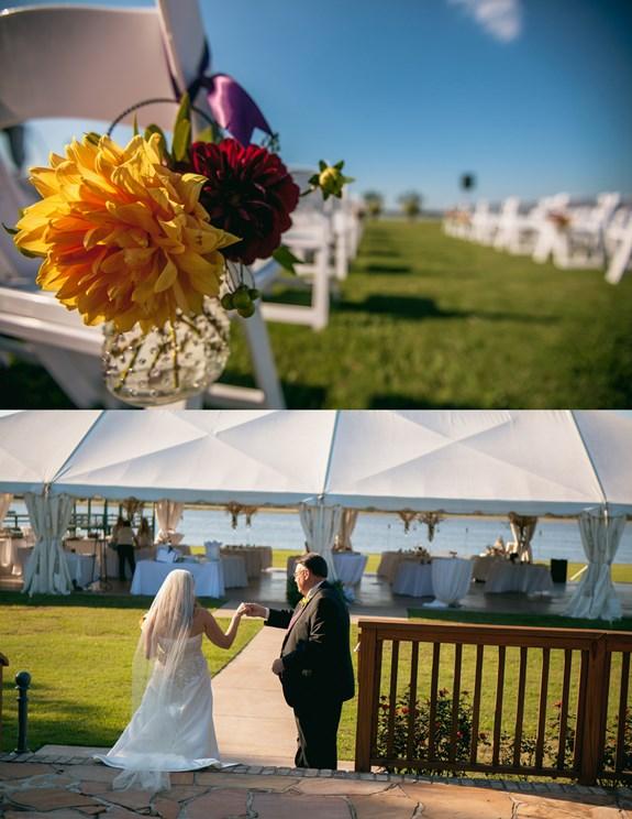 charleston-wedding-aisle-markers