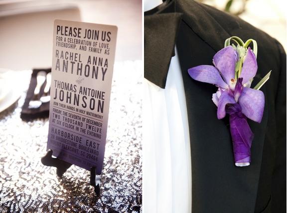 charleston-wedding-purple-orchid-boutonniere