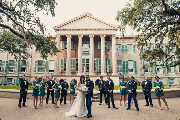 charleston-wedding-college of charleston