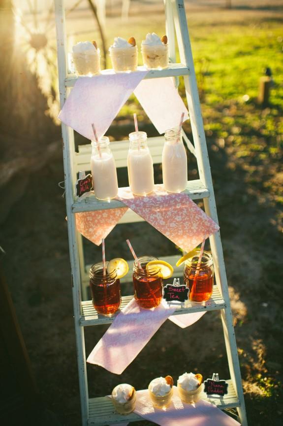 wedding-drink station