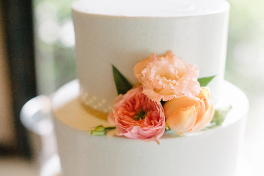 Charleston Wedding Cake by D'lish