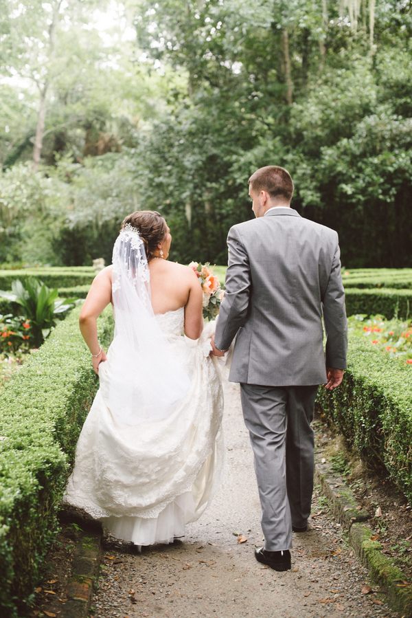 Magnolia Plantation wedding in Charleston, SC