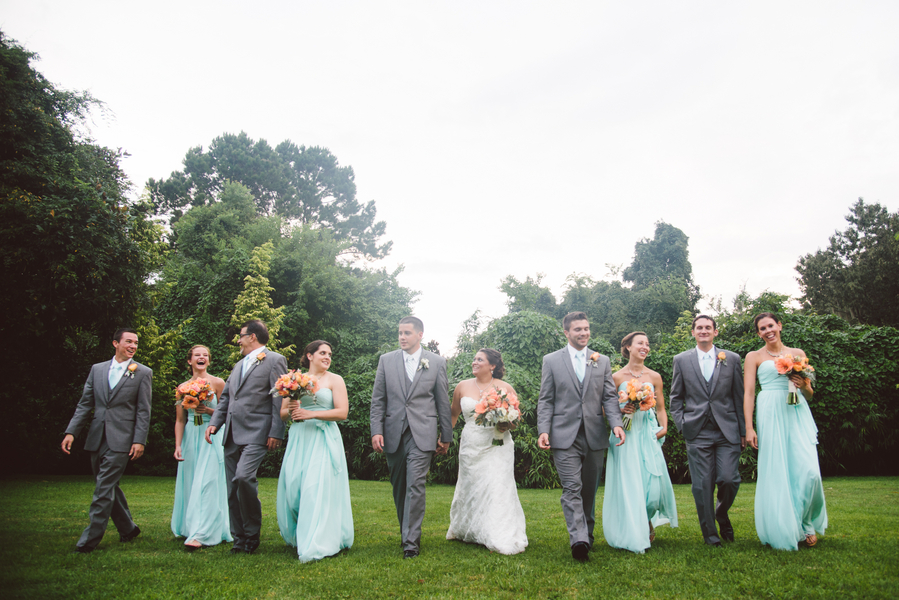 Mint Charleston Wedding by Wildflowers Inc