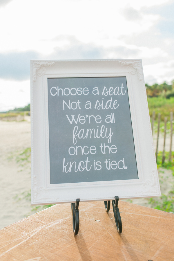 Nautical Wedding at Hilton Head Island